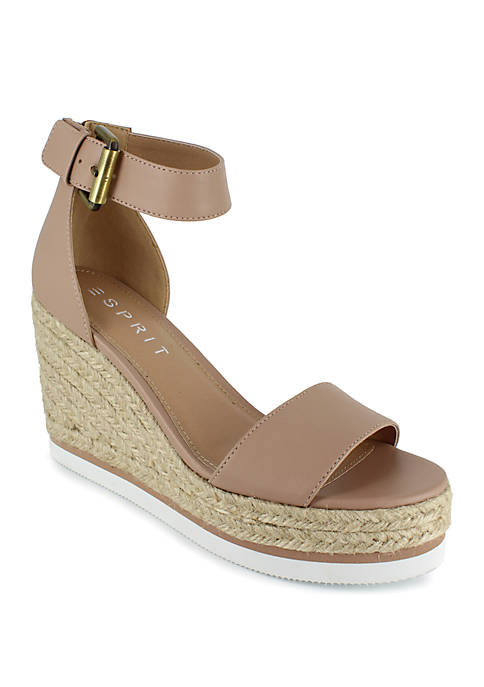 ESPRIT Rebecca Rope Wedge Sandals