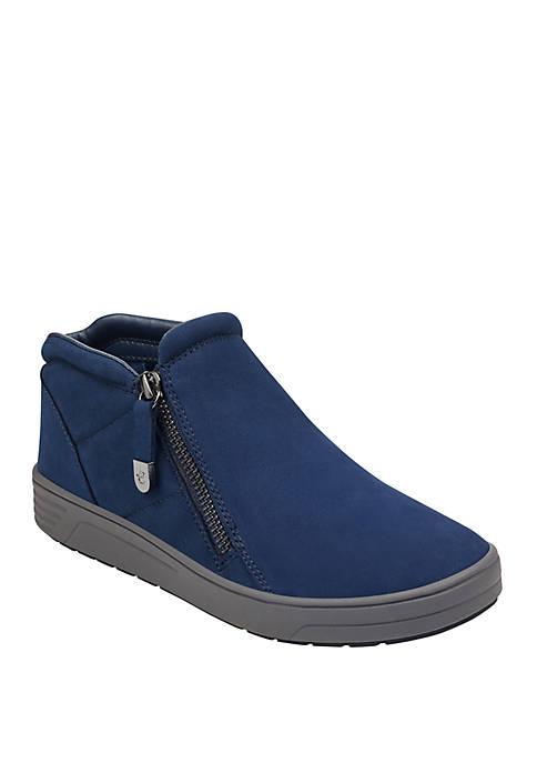 Easy Spirit Novia Side Zip Sneakers