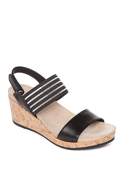 Kim Rogers® Ayra Wedge Sandals