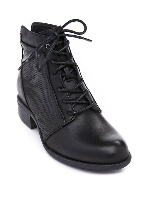 Poette Lace Up Booties