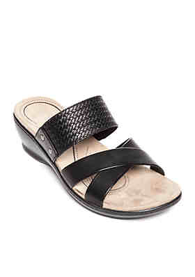 665546cc459a Kim Rogers® Naddy Strap Sandals ...