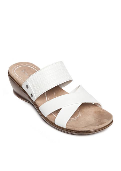 Kim Rogers® Naddy Strap Sandals