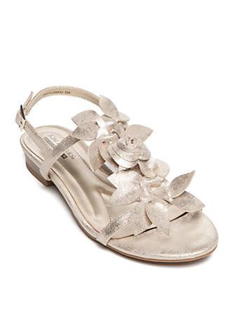 Kim Rogers® Wayflower Sandal SMlx0xF63r