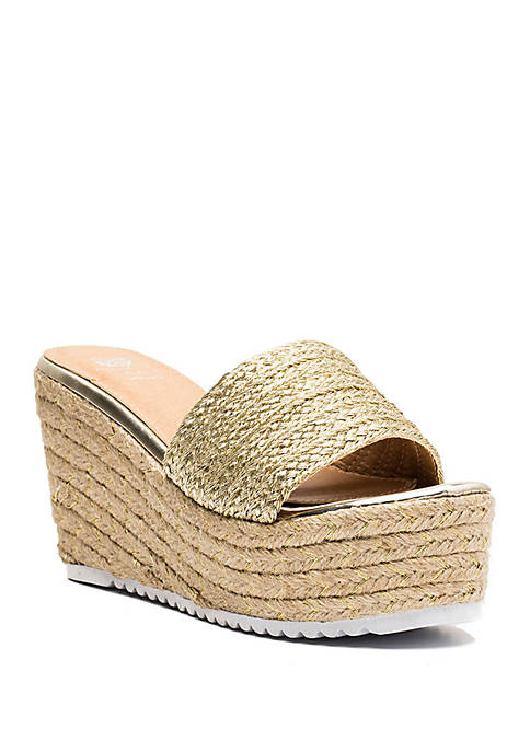 G.C. Shoes Flo Platform Sandal