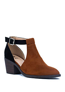 Harley Cut Out Ankle Boot