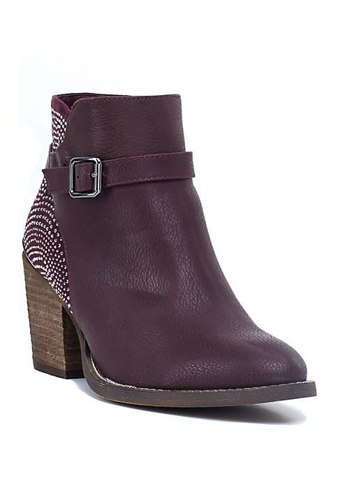 G.C. Shoes Jade Embellished Ankle Boot
