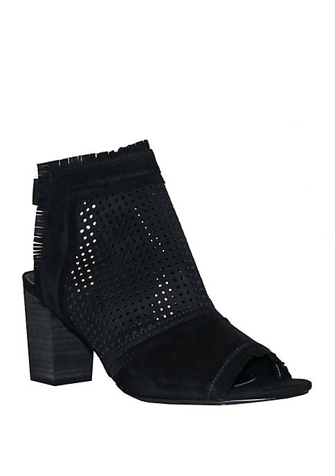 G.C. Shoes Kyra Open Toe Bootie