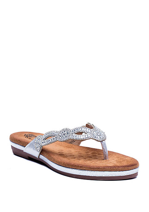 G.C. Shoes Linnet Flip Flop Sandals