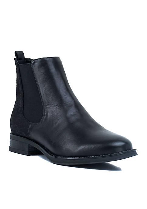 Lori Snake Detail Chelsea Boot