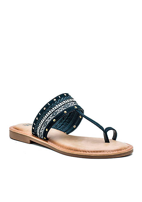 G.C. Shoes Maya Toe Loop Thong Sandal