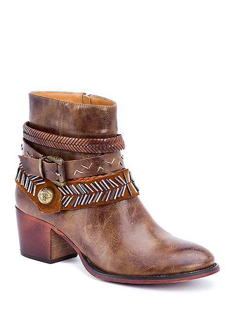 G.C. Shoes Randee Heeled Western Bootie