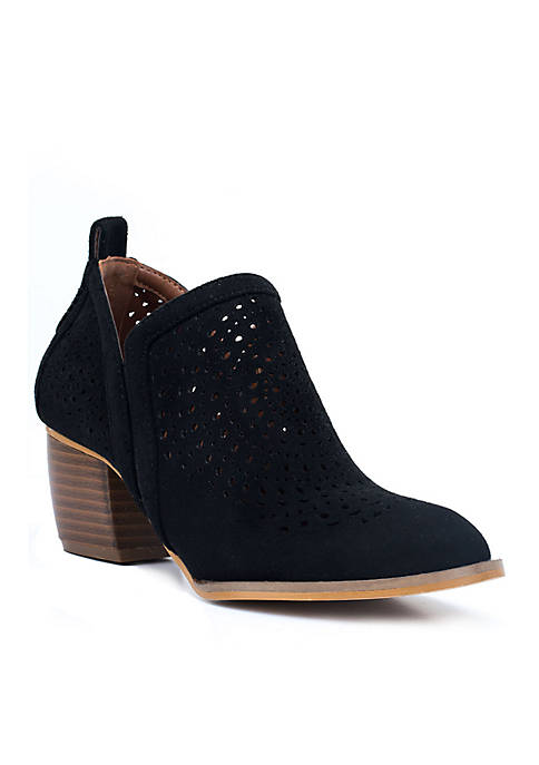 G.C. Shoes Ricky Laser Cut Bootie