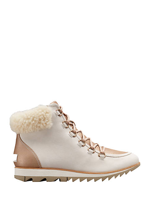 Harlow Lace Up Booties