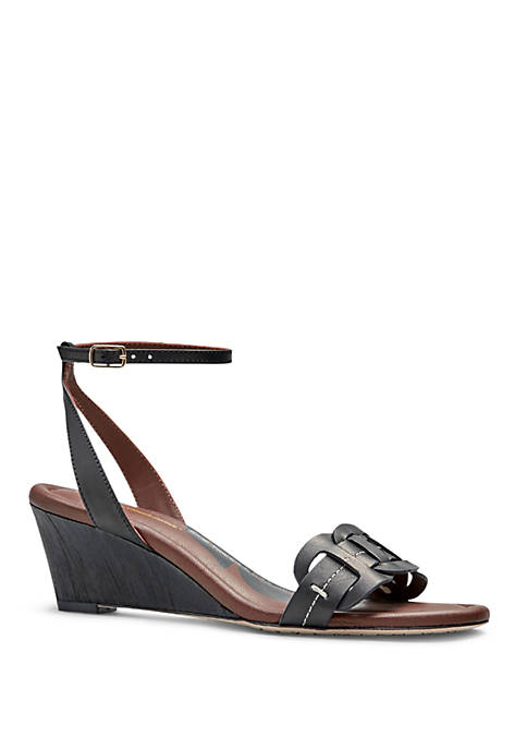 Florance Row Wedge Sandals