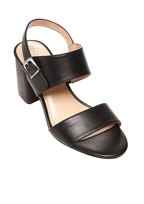 Selah Memory Foam Block Heel Sandal