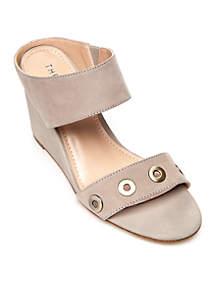 Becky Memory Foam Wedge Sandal