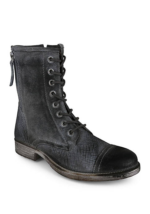 Affair Lace Up Combat Boots