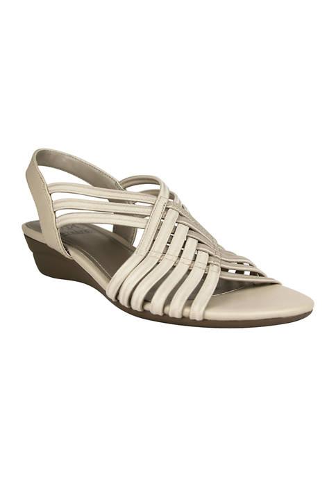 Impo Rassida Stretch Wedge Sandals