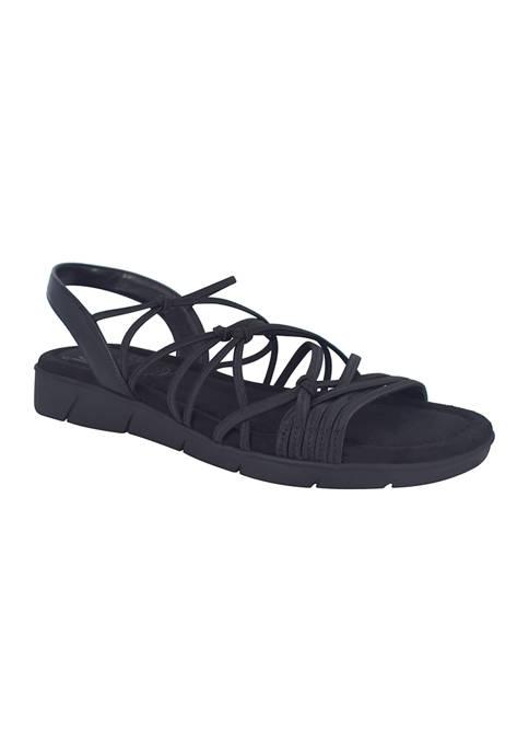 Impo Belma Stretch Sandals with Memory Foam