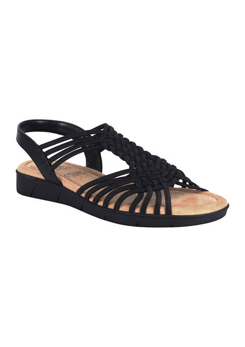 Impo Bernette Stretch Sandals with Memory Foam