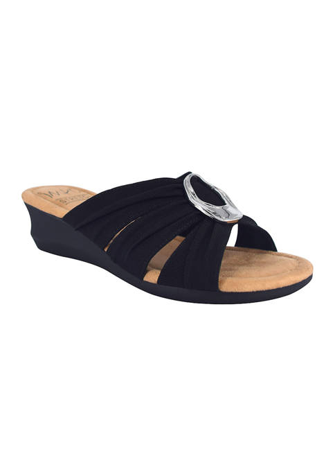 Impo Geneen Slide Sandals with Memory Foam