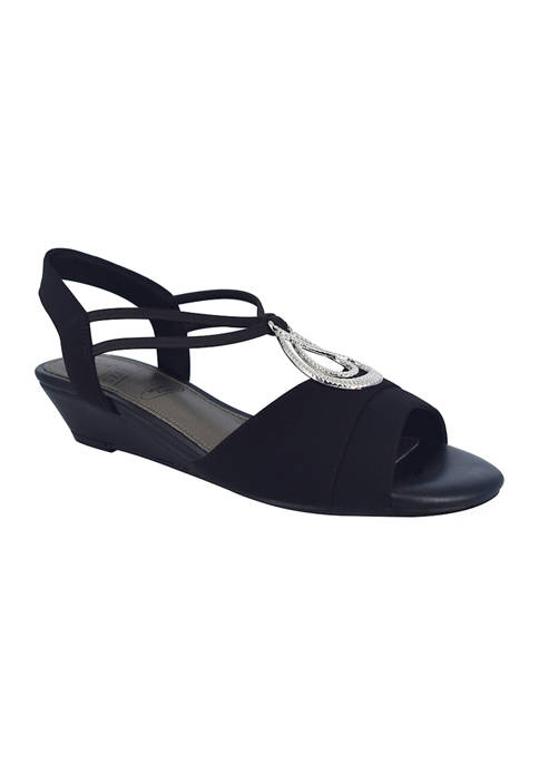 Impo Resida Stretch Sandals with Memory Foam