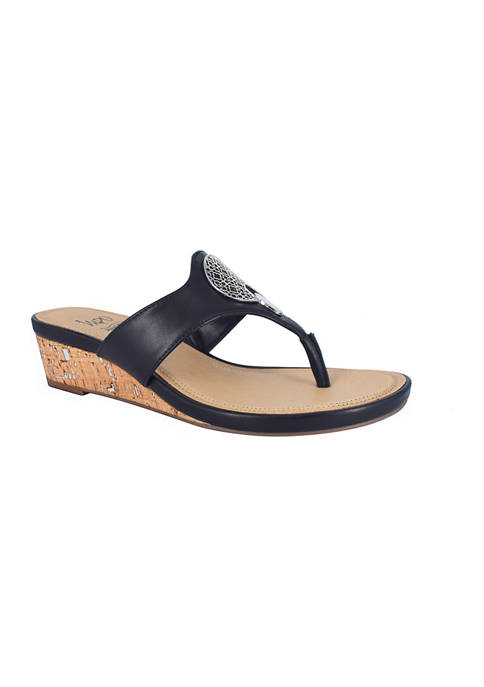 Impo Ronella Thong Sandals with Memory Foam