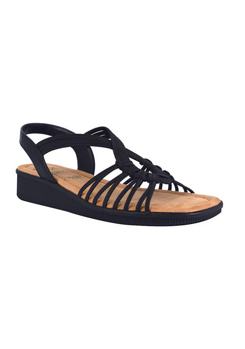 Impo Rosina Stretch Sandals with Memory Foam