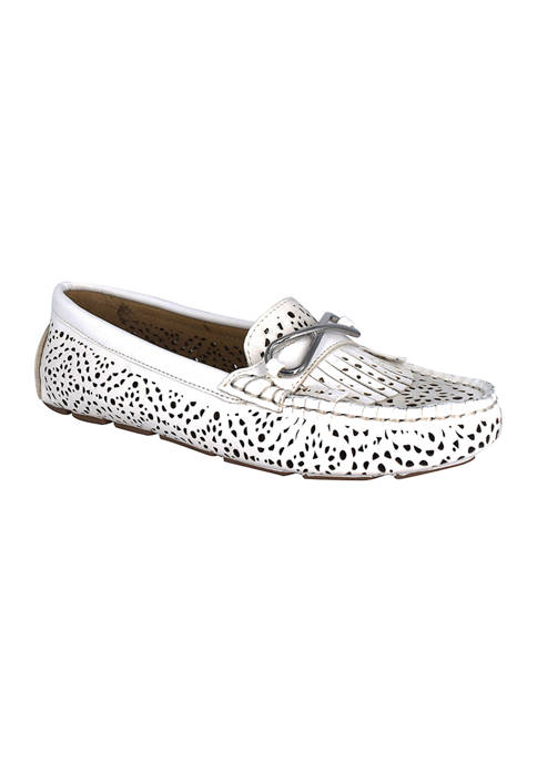 Impo Cassie Laser Cut Loafers with Memory Foam