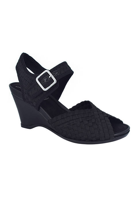 Impo Varla Stretch Sandals with Memory Foam
