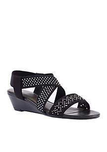 Gritha Stretch Sparkle Sandal