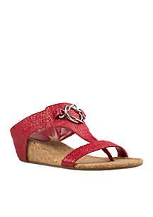 Guevera Ornament Thong Sandal