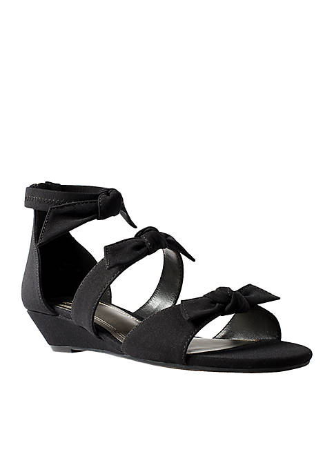 Impo Reena Knotted Wedge Sandal