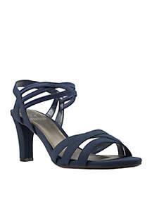 Vanish Stretch Dress Heel Sandal