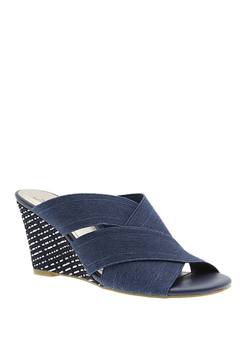 Impo Volney Stretch Wedge Sandals