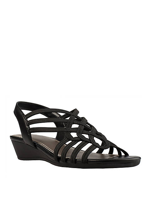 Impo Roma Stretch Wedge Sandal