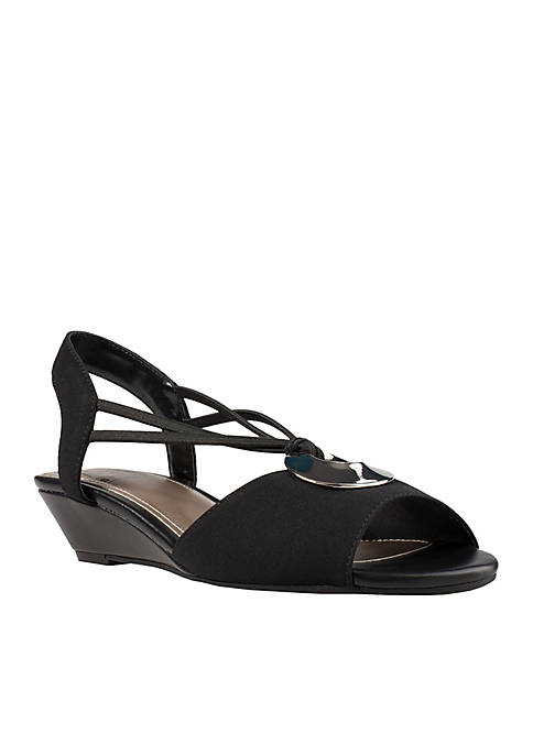 Impo Rosalba Stretch Wedge Sandal
