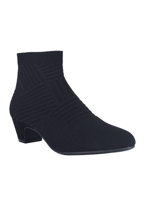 Giles Stretch Knit Booties