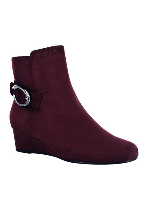 Impo Guevera Stretch Wedge Booties