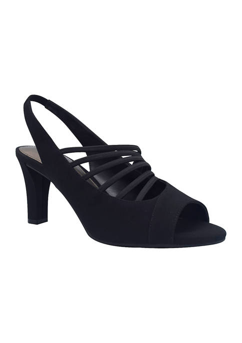 Valera Stretch Slingback Sandals