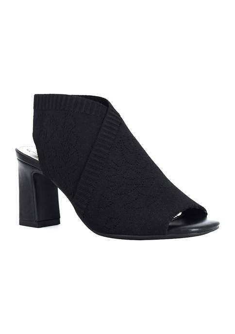 Impo Vern Knit Stretch Slingback Sandals