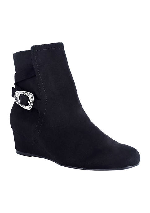 Impo Glynn Stretch Wedge Booties
