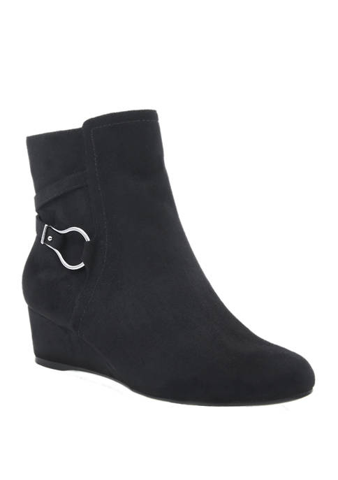 Impo Gracia Stretch Wedge Booties