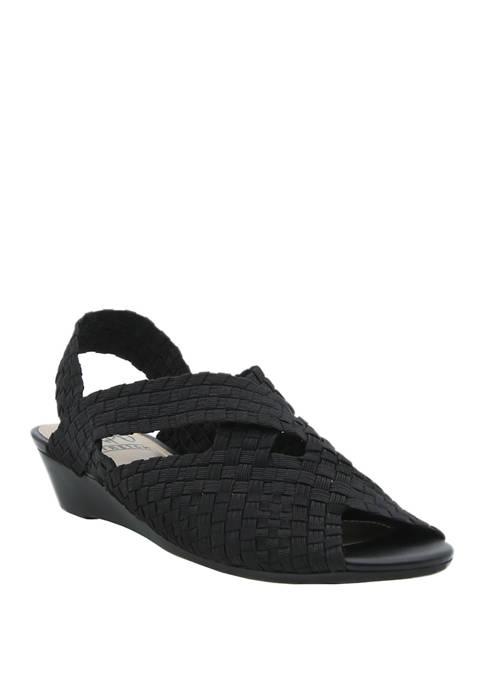 Impo Raldis Woven Stretch Sandals
