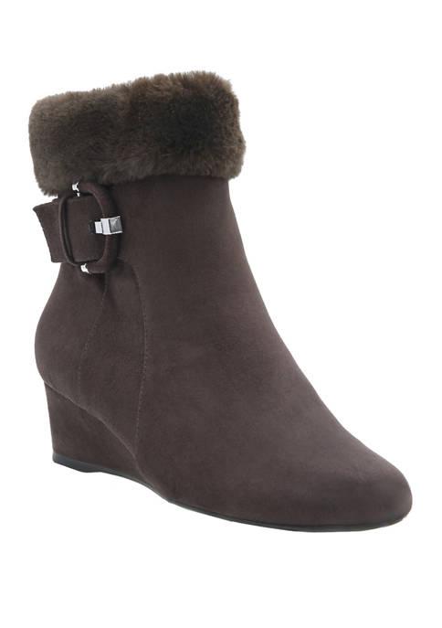Impo Gilmore Fur Trim Booties