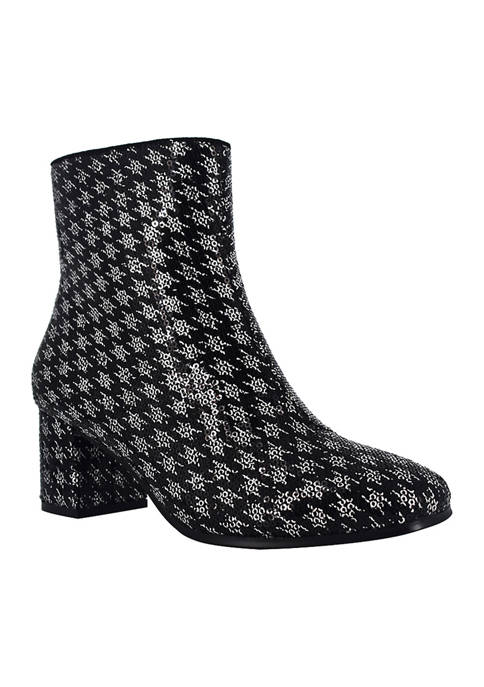 Impo Jarles Sequin Booties