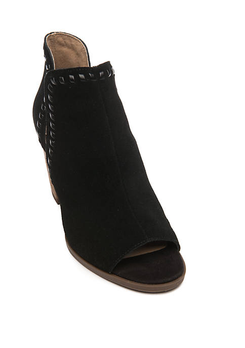 Crown & Ivy™ Serena Open Toe Booties