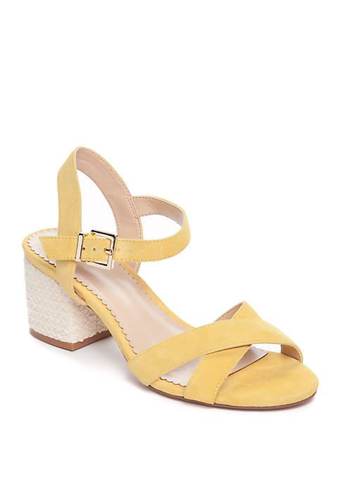 Crown & Ivy™ Ella Block Heel Sandal