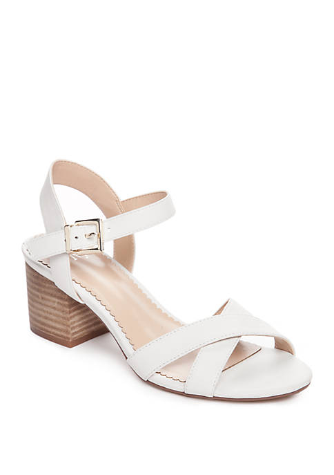 Crown & Ivy™ Ella Block Heel Sandal