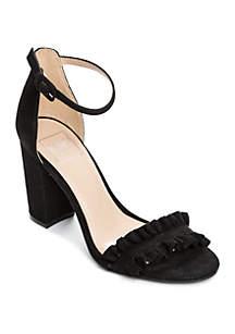 Kaari Blue™ Gianna Ruffled Heel Sandal